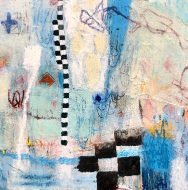 Painting, oil, abstract, artwork by Jacqui Harris