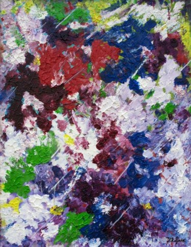 Painting, oil, abstract, artwork by Galina-Hava