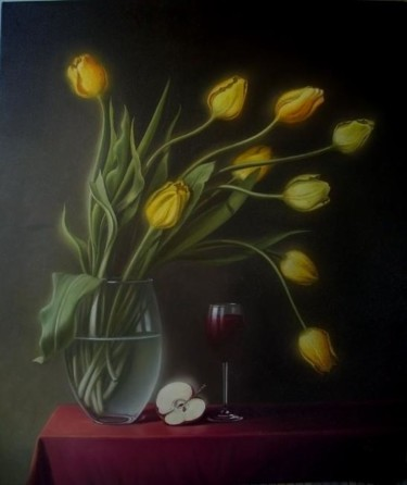 """Painting titled """"Colour2"""" by Gyuri Lohmuller, Original Art, Oil"""