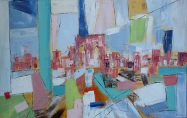 """Painting titled """"brooklyn.png"""" by Helene Rousselot, Original Art,"""