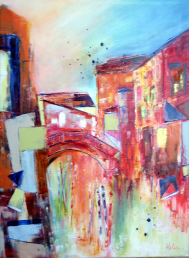 """Painting titled """"venise-is-beautiful…"""" by Helene Rousselot, Original Art,"""