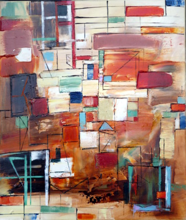 """Painting titled """"front-view.jpg"""" by Helene Rousselot, Original Art,"""