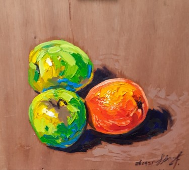 Still life Painting, oil, figurative, artwork by Hen