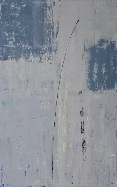 Painting, acrylic, expressionism, artwork by Hans Hagenbeuk
