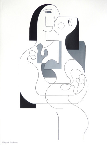29.9x21.7x0.4 in ©2021 by Hildegarde Handsaeme