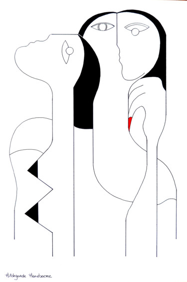 21.7x14.6x0.4 in © by Hildegarde Handsaeme
