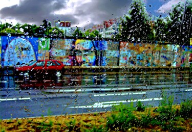 """Photography titled """"Heavy Raining in Ge…"""" by Clement Tsang, Original Art, Digital Photography"""