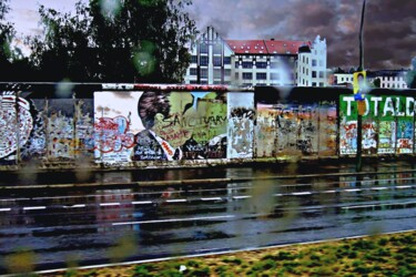 """Photography titled """"Wall art in Germany"""" by Clement Tsang, Original Art, Digital Photography"""