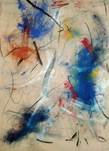 Painting, pigments, abstract, artwork by H-Nguyen