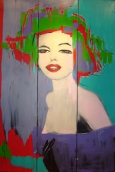 180x40 cm ©2009 by ica saez