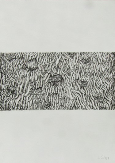 Drawing, ink, abstract, artwork by Isabelle Stagg
