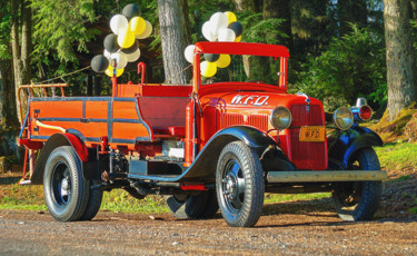 """Photography titled """"Old Fire Truck"""" by Igzotic, Original Art, Digital Photography"""