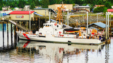 """Photography titled """"Coastguard Cutter A…"""" by Igzotic, Original Art, Digital Photography"""
