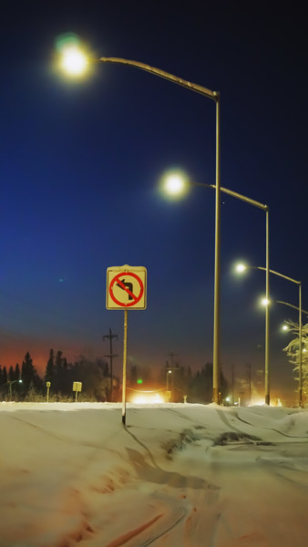 """Photography titled """"No Left"""" by Igzotic, Original Art, Digital Photography"""