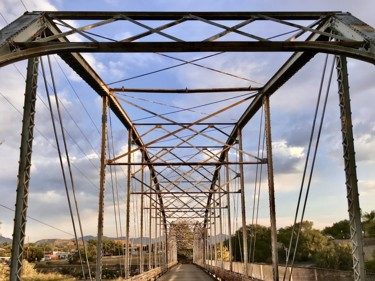 """Photography titled """"Bridge Over the Col…"""" by Igzotic, Original Art, Digital Photography"""