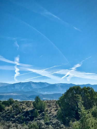 """Photography titled """"Chemtrail Day"""" by Igzotic, Original Art, Digital Photography"""