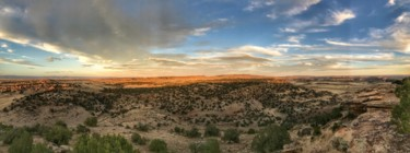 """Photography titled """"Desert Sky Panorama"""" by Igzotic, Original Art, Non Manipulated Photography"""