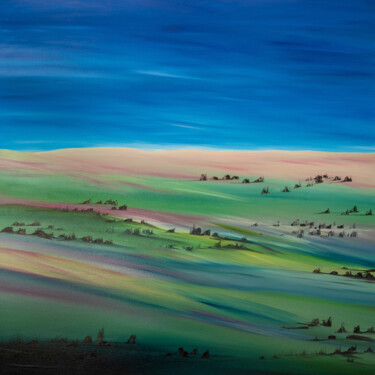 """Painting titled """"Yrbag"""" by Ilaria Sperotto, Original Art, Oil Mounted on Stretcher frame"""
