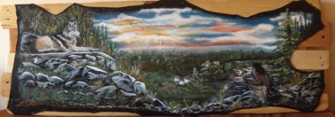 16.9x48.4 in © by Indian Héritage Arts