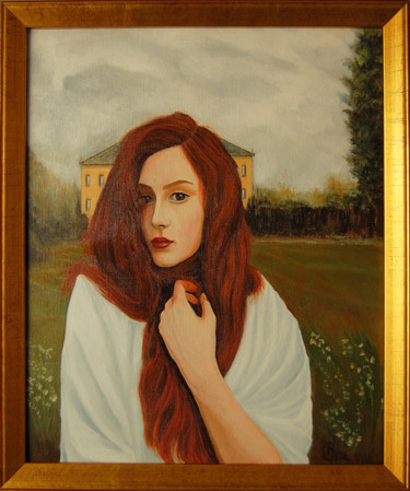 Painting, oil, figurative, artwork by Rmutti