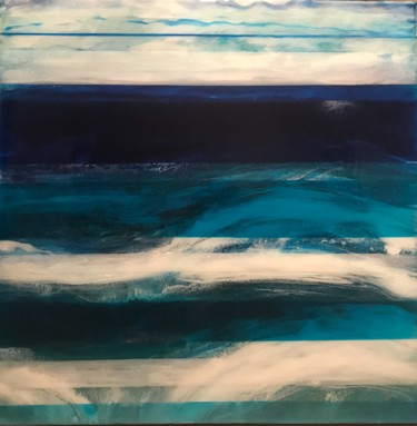 """Painting titled """"Sea view"""" by Inka2arte, Original Art, Other"""