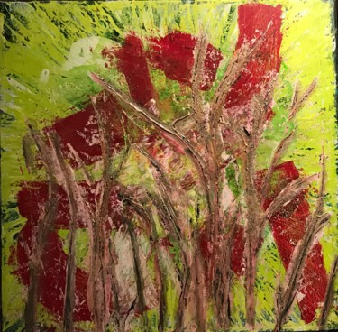 """Painting titled """"HOT JULY (TWO PAINT…"""" by Inka2arte, Original Art, Acrylic"""
