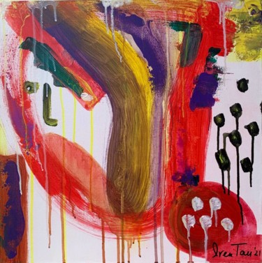 """Painting titled """"Emotions"""" by Iren Tau, Original Art, Acrylic"""
