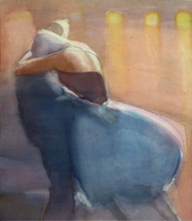 """Painting titled """"Warmth"""" by Irena Luse, Original Art,"""