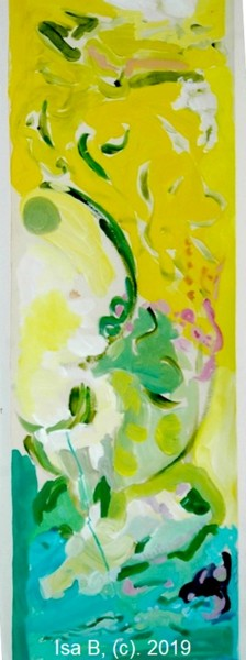 """Painting titled """"Le printemps"""" by Isa B., Original Art, Acrylic"""