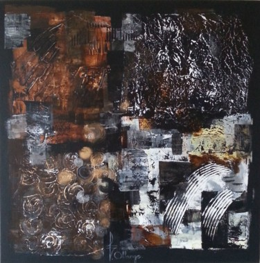 80x80x5 cm ©2014 by Isabel OLLANGE