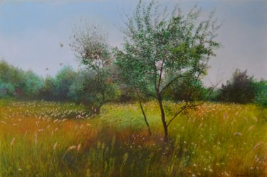 Painting, oil, impressionism, artwork by Ivan Ormanzhi