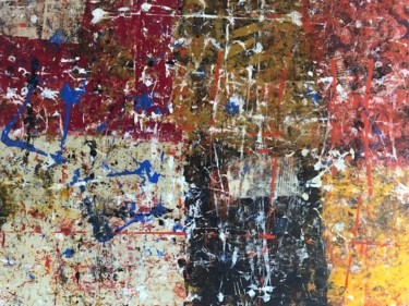 Painting, acrylic, abstract, artwork by Artretar