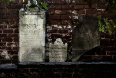 """Photography titled """"Tombstones"""" by John Pingree, Original Art, Digital Photography"""