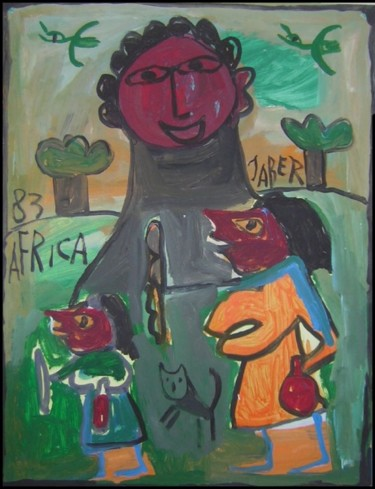 25.6x19.7 in ©1995 by Monsieur JABER