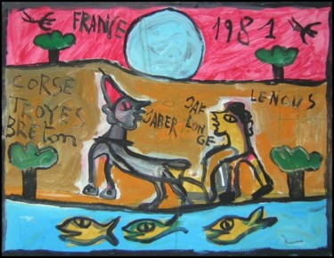 19.7x25.6 in ©1995 by Monsieur JABER
