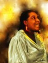 """Painting titled """"Bessie Smith Jazz S…"""" by Jacqueline Amos, Original Art, Other"""
