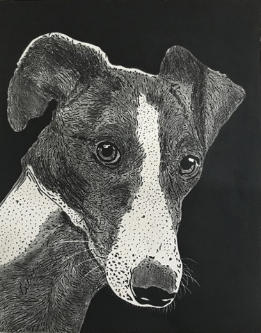 Animal Printmaking, lithography, figurative, artwork by Jacques Rouget