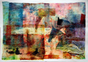 """Collages titled """"Gallop"""" by Jamaleddin Toomajnia, Original Art, Collages"""