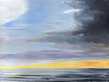 """Painting titled """"Furious Calm"""" by James Potter, Original Art, Oil"""