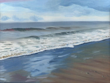 """Painting titled """"Morning Wave"""" by James Potter, Original Art, Oil"""