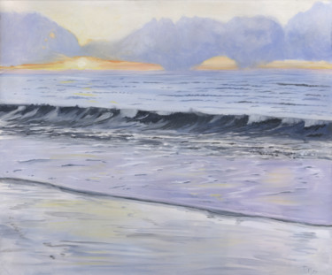 """Painting titled """"By the Dawn's Early…"""" by James Potter, Original Art, Oil"""