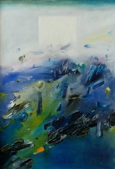 """Painting titled """"Foregrounds to the…"""" by Jan Pogany, Original Art, Oil"""