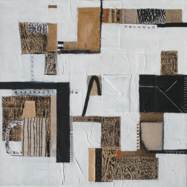 """Collages titled """"Way out"""" by Jana Štok, Original Art, Collages"""