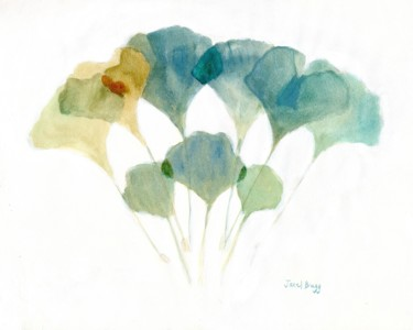 Color Painting, watercolor, abstract, artwork by Janel Bragg