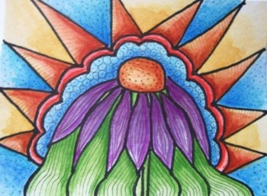 """Painting titled """"Morning glory"""" by Janet Robson, Original Art,"""