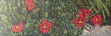 """Painting titled """"Poppies"""" by Jan Wall, Original Art,"""