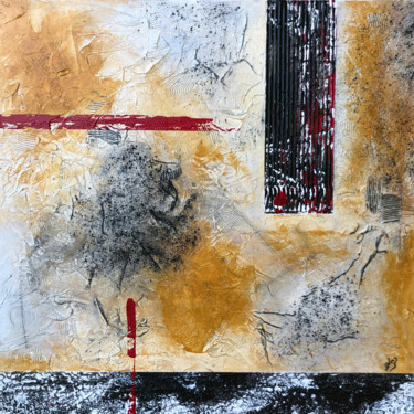 """Painting titled """"ABSTRACT 2003"""" by Jean-Claude Besson, Original Art, Acrylic"""