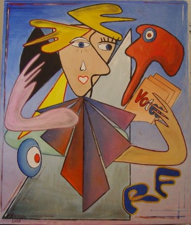 22.1x17.7 in ©2009 by Jean-Claude Chatain