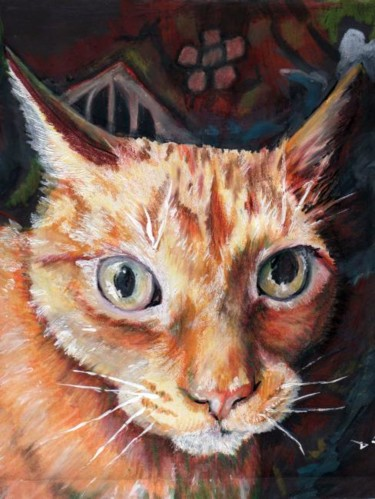 """Painting titled """"Iconic Fred"""" by J D Bluehorse, Original Art,"""