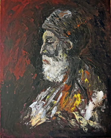 """19.7x15.8 in © by Jean-Luc Pavaut """"YaAkov"""""""